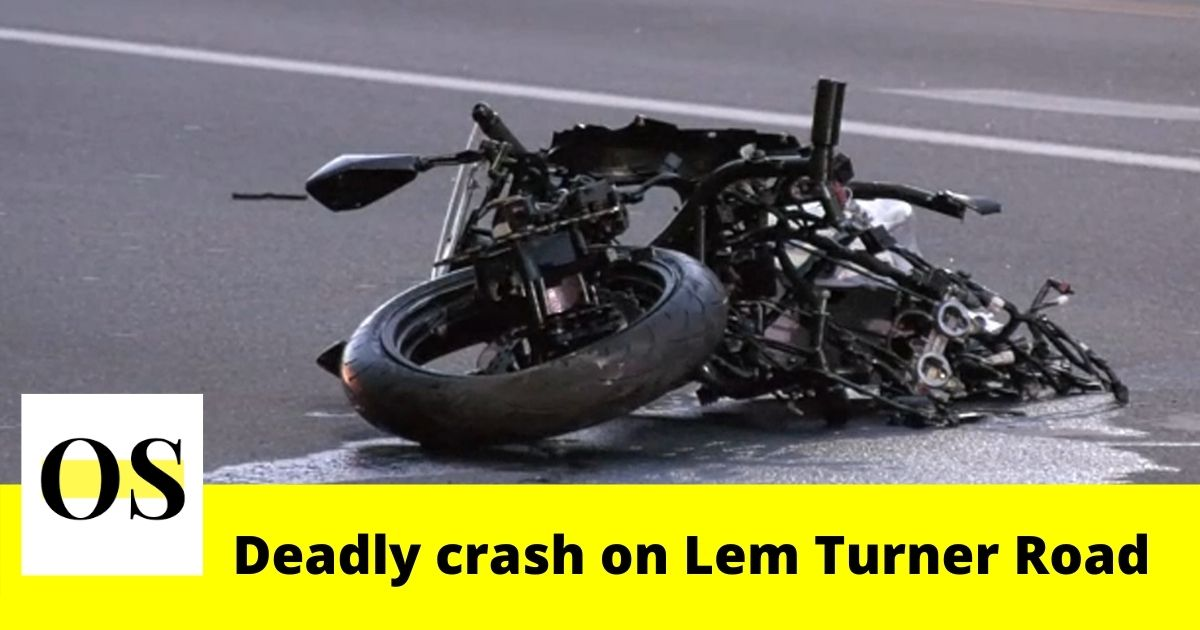 Motorcyclist killed in a crash on Lem Turner Road in Jacksonville 2