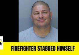 Miami-Dade firefighter (Fernando Castano) stabbed himself after domestic violence arrest