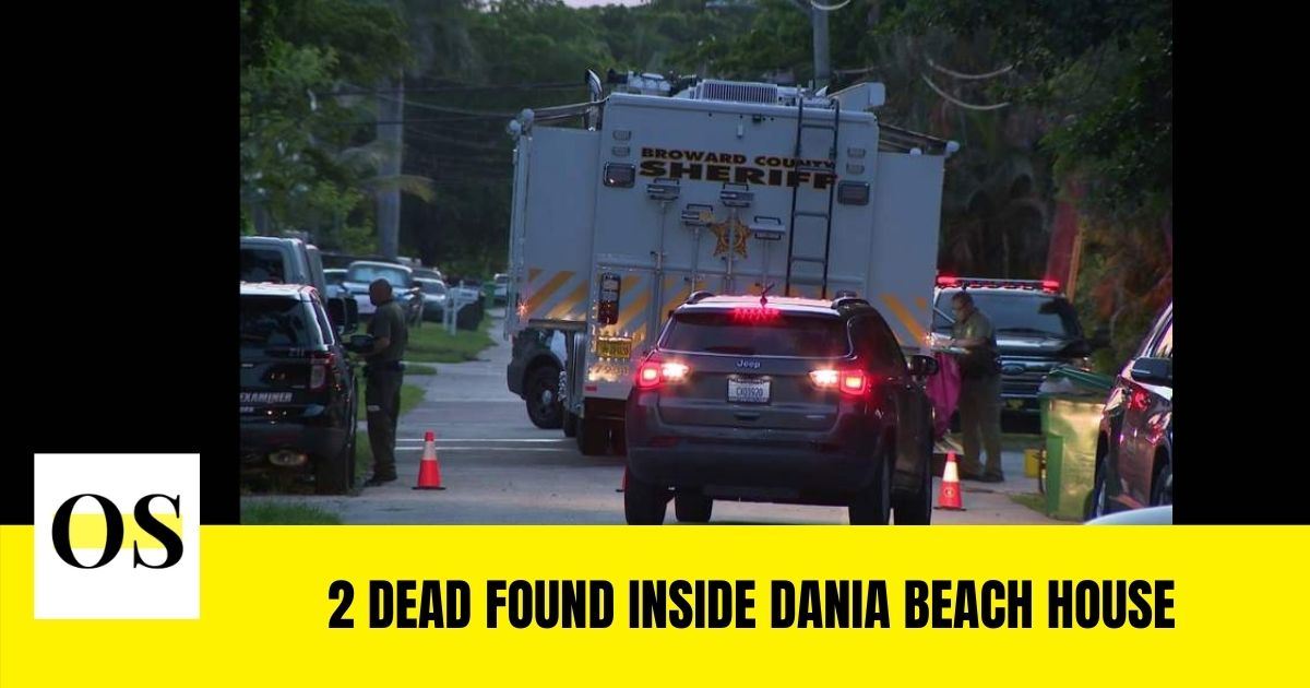 Deputies found 2 dead inside the Dania Beach house
