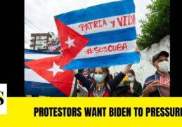 Protestors want Biden to Pressure