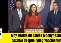 Florida Attorney General Ashley Moody Tested Posistive