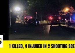 1 died, 4 injured in 2 Downtown Jacksonville shooting scenes