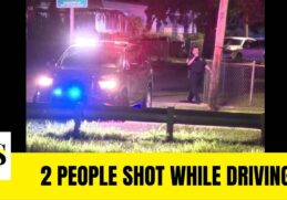 2 people shot while driving in Opa-Locka