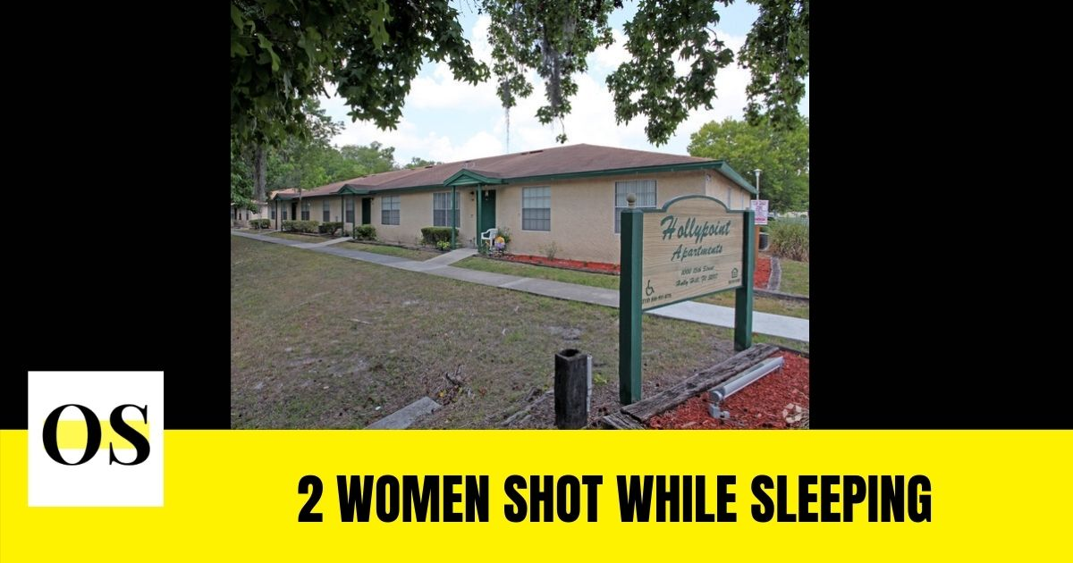 2 women shot while sleeping in Holly Point Apartments