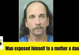 Anthony Cesany accused of exposing himself to a mother and daughter