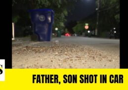 Father and son shot sitting in a car in Miami