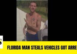 Florida man named Charles Harrington arrested for stealing vehicles