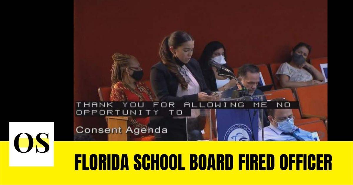 Florida school board fired officer Dubraska Guevara over drunken incident