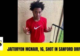 Jaitoryon McNair, 16, shot in Sanford drive-by || Sanford News