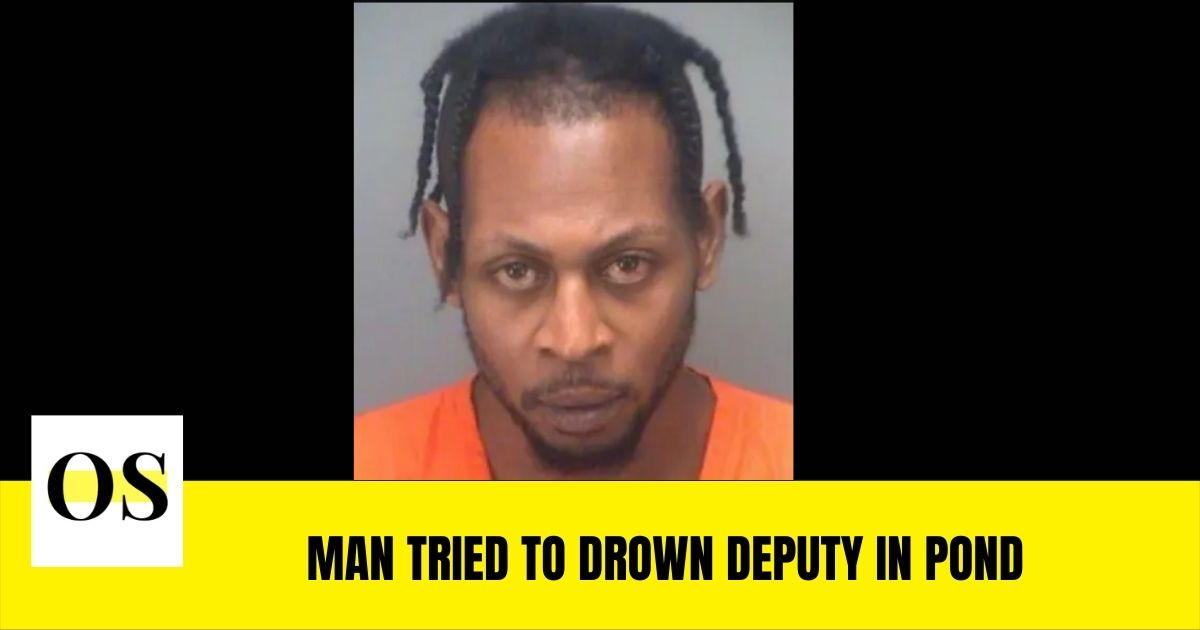 Joshua Henderson arrested for murder tried to drown deputy in pond