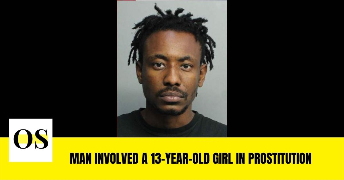 Moise Junior Jasmin included a 13-year-old girl in prostitution