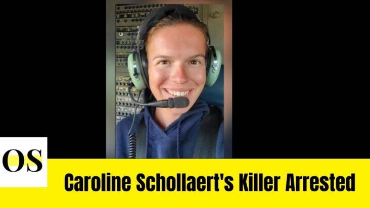 Tyree Parker arrested for killing Caroline Schollaert